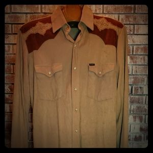 VINTAGE Wrangler Long Sleeve Shirt